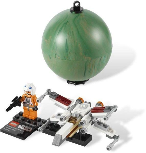 Истребитель X-Wing и планета Явин 4, Lego Star Wars (Лего Звездные войны)