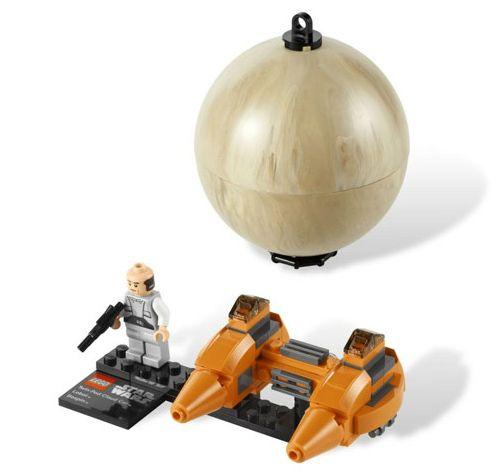 Двухместный аэромобиль и планета Беспин, Lego Star Wars (Лего Звездные войны)