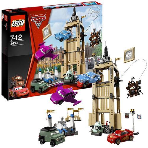 Побег из Большого Бентли Lego Cars (Лего Тачки)