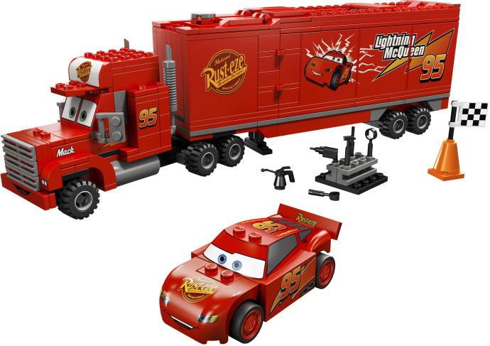 Трейлер Мака Lego Cars (Лего Тачки)