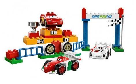 Мировой Гран-При Lego Duplo Cars (Лего Дупло Тачки)