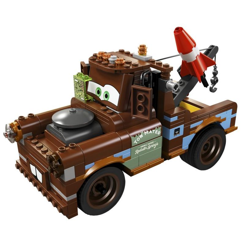 Мэтр: крутой тюнинг Lego Cars (Лего Тачки)