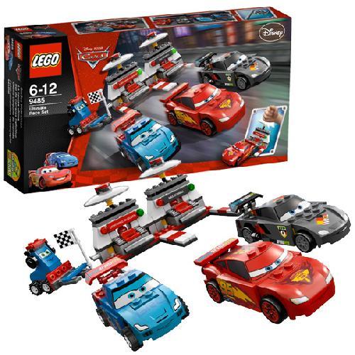 Крутой гоночный набор Lego Cars (Лего Тачки)