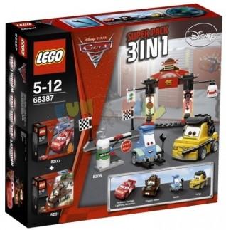 Подарочный Суперпэк Lego Cars (Лего Тачки)