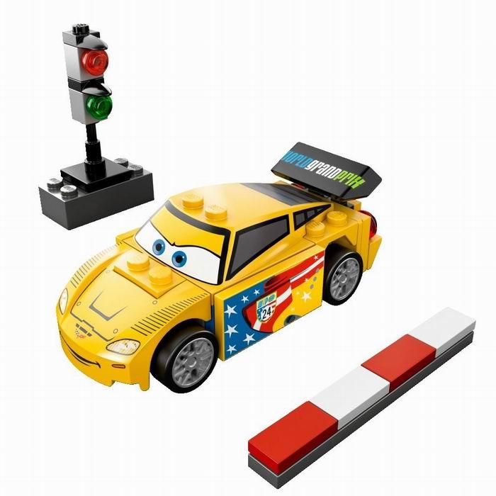 Джеф Горвет Lego Cars (Лего Тачки)