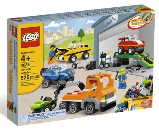 Веселый транспорт Lego System (Лего Систем)