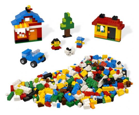Веселые кубики ЛЕГО Lego Creator (Лего Криэйтор)