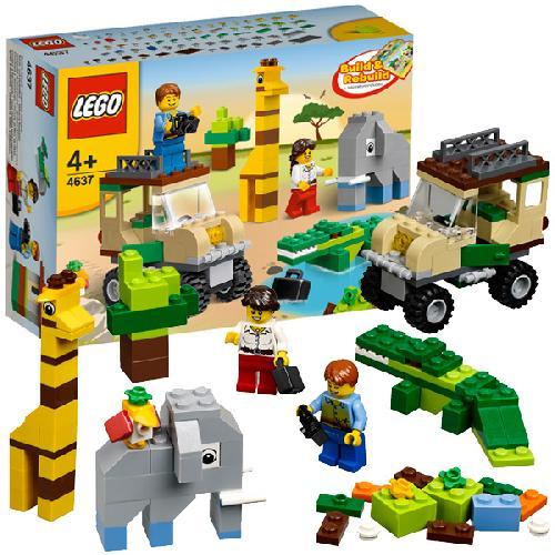 Строительный набор Сафари Lego System (Лего Систем)