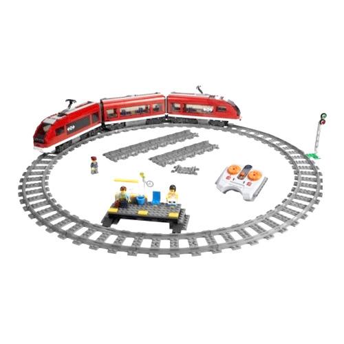 Пассажирский поезд Lego City (Лего Город)