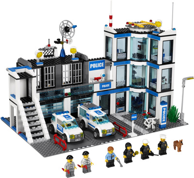 Полицейский участок Lego City (Лего Город)