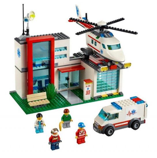 Спасательный вертолет Lego City (Лего Город)