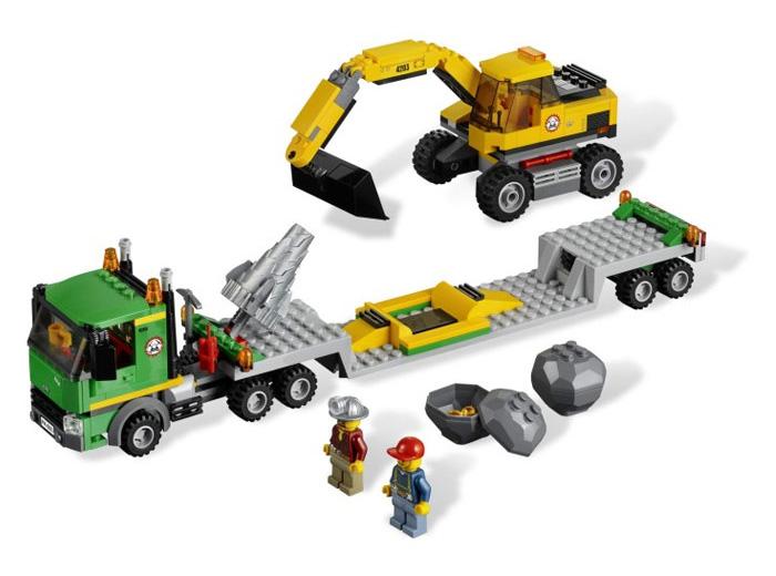 Экскаватор Lego City (Лего Город)