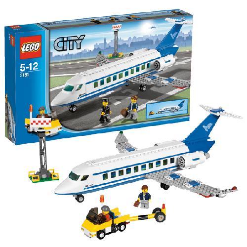 Пассажирский самолёт Lego City (Лего Город)