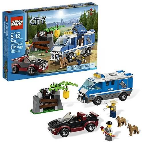 Фургон для полицейских собак Lego City (Лего Город)