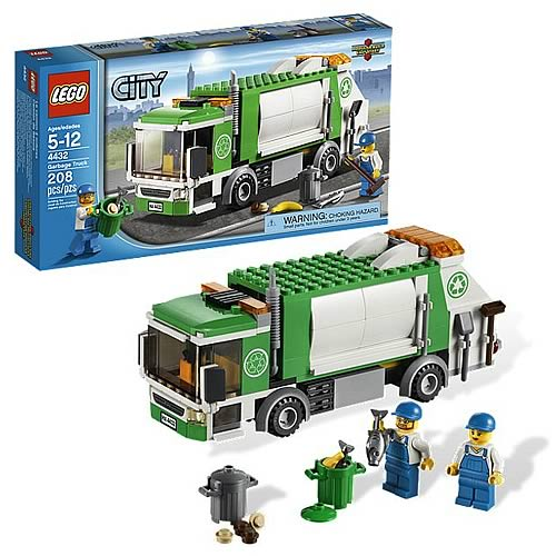 Мусоровоз Lego City (Лего Город)