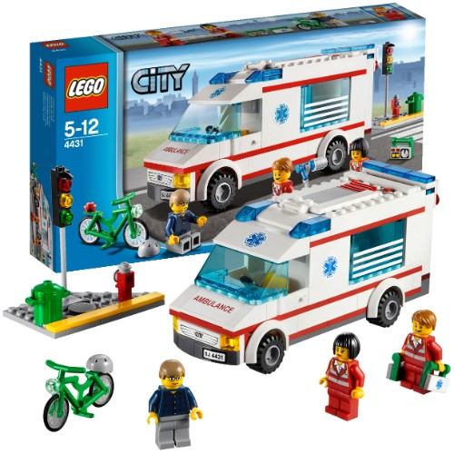 Машина скорой помощи Lego City (Лего Город)