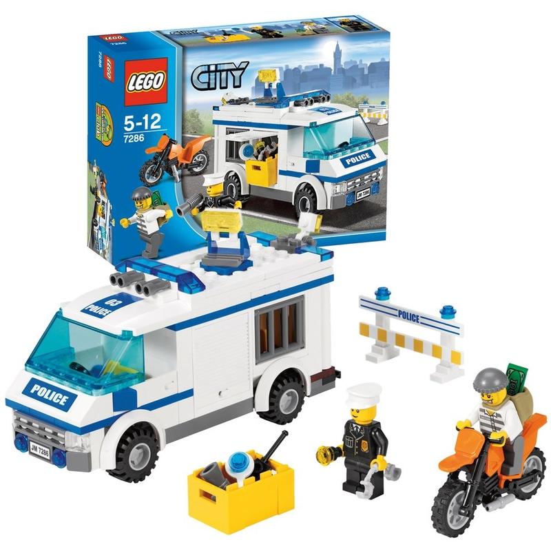 Перевозка заключённых Lego City (Лего Город)