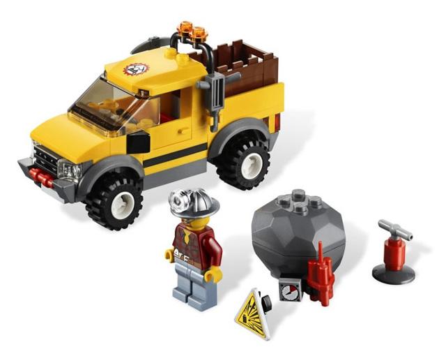 Горный внедорожник 4×4 Lego City (Лего Город)