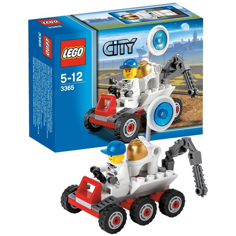 Космический лунный багги Lego City (Лего Город)