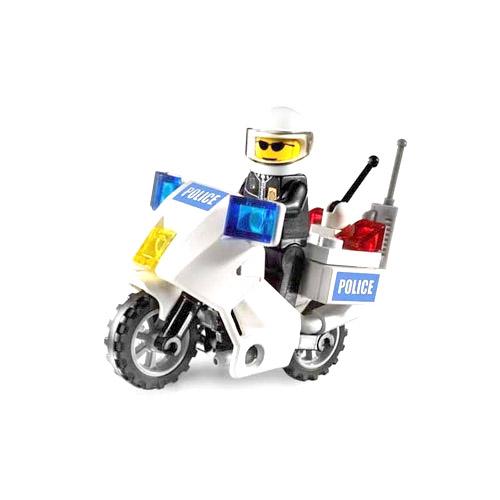 Полицейский мотоцикл Lego City (Лего Город)