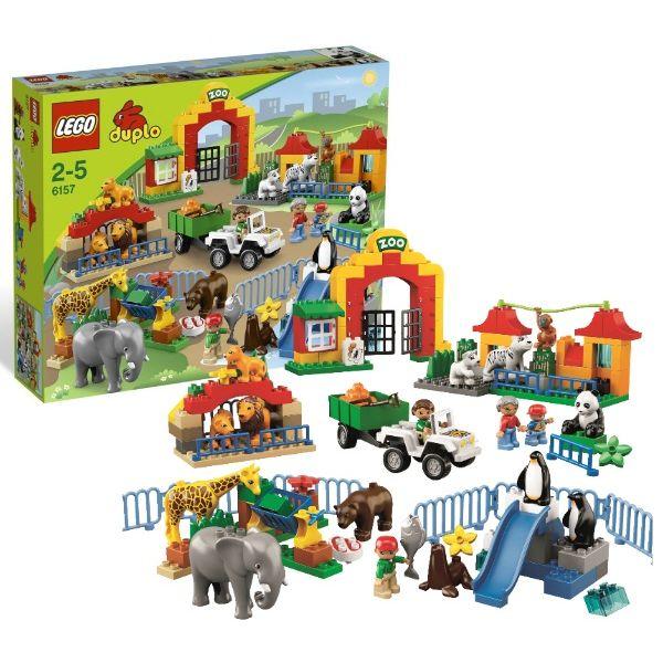 Большой зоопарк Lego Duplo (Лего Дупло)