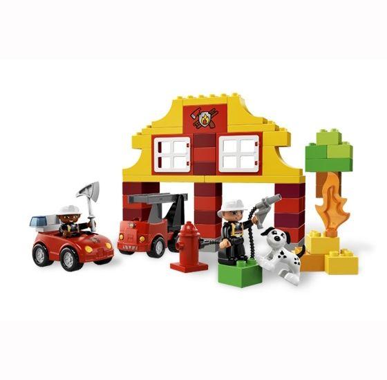 Мой первый Пожарный участок Lego Duplo (Лего Дупло)