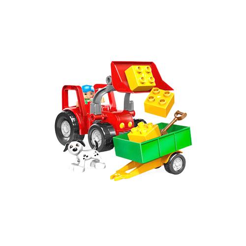 Большой трактор Lego Duplo (Лего Дупло)