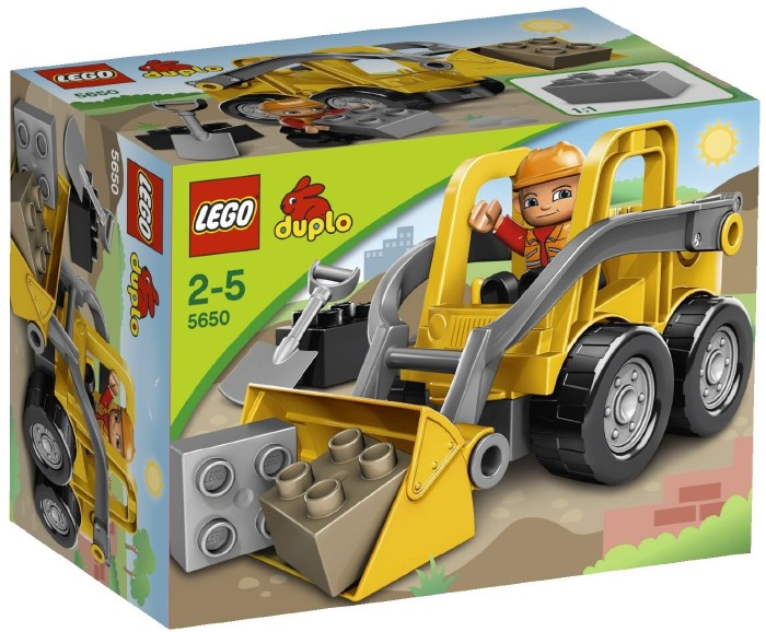 Фронтальный погрузчик Lego Duplo (Лего Дупло)