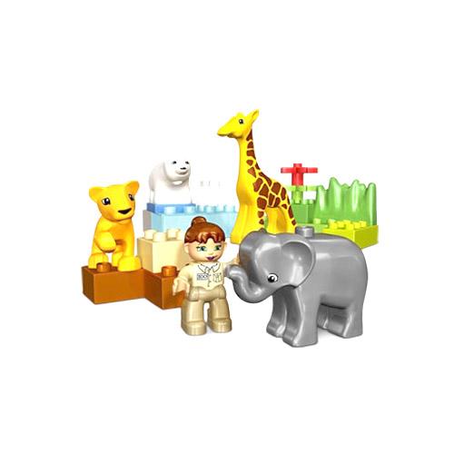 Зоопарк для малышей Lego Duplo (Лего Дупло)