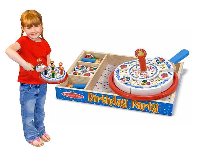 Деревянный набор для Дня Рождения Melissa and Doug