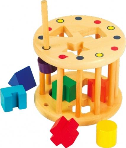 Занимательный цилиндр Мир деревянных игрушек