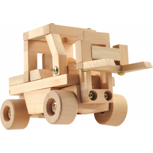 """Конструктор """"Автопогрузчик"""" Мир деревянных игрушек"""