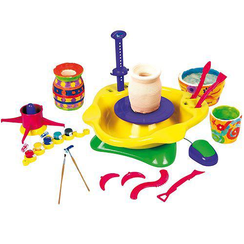 Игровой набор для творчества – гончарный круг PlayGo (ПлейГо)