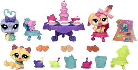 Игровой набор Чаепитие Littlest Pet Shop (Маленький зоомагазин) (Маленький зоомагазин)