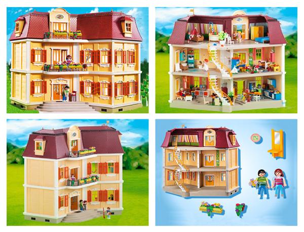Кукольный дом: Особняк с двумя лестницами Playmobil (Плеймобил)