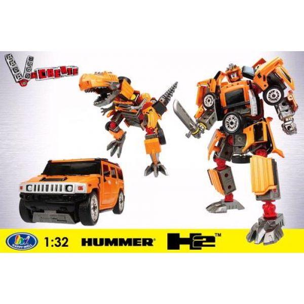 """Робот-трансформер """"Galaxy Defender"""" – Hummer 3 в 1"""
