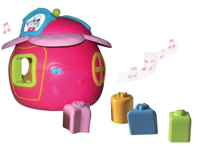 Волшебный домик Мими, музыкальный интерактивный сортер Ouaps (Оуапс)