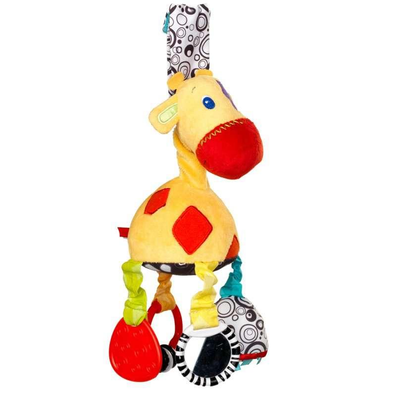 """Развивающая мягкая игрушка """"Жираф"""", Bright Starts (Брайт Стартс)"""