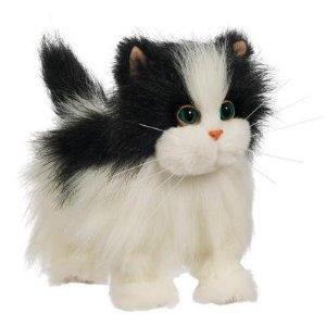 Ходячая кошка белая с черным FurReal Friends (Фариал Френдс)