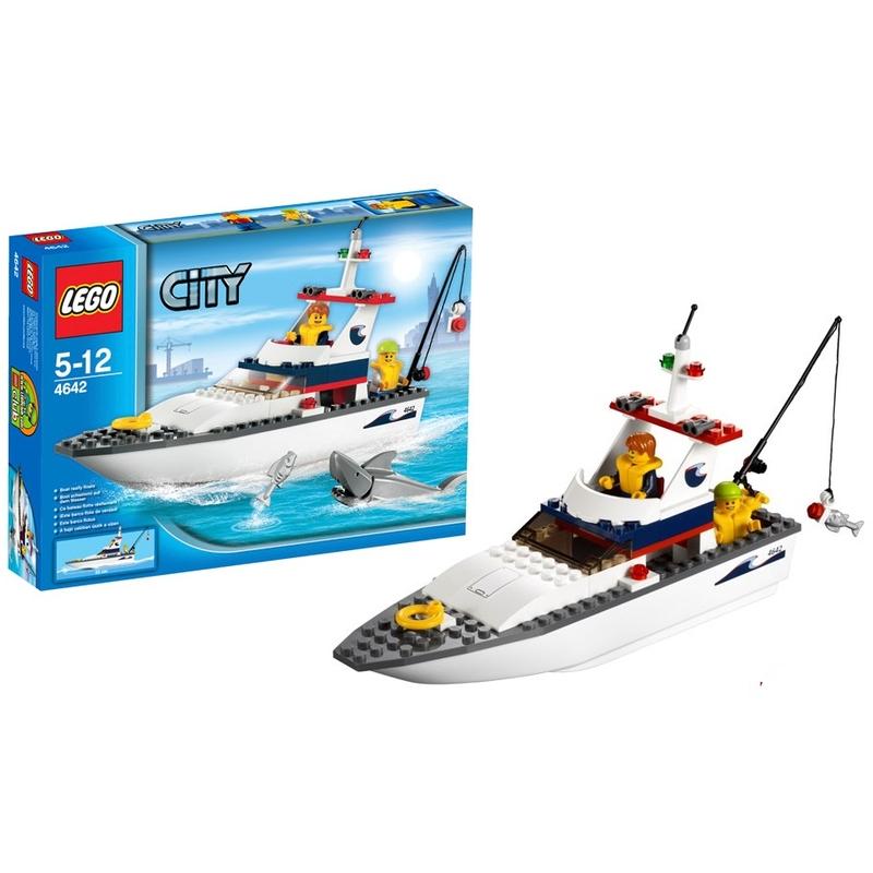 Рыболовное судно Lego City (Лего Город)