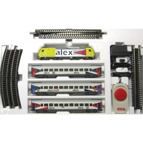 Стартовый набор модельной железной дороги «ALEX Express», Piko (Пико)
