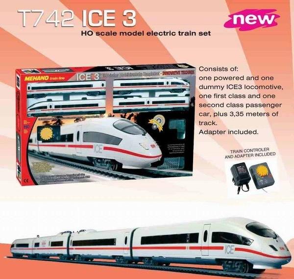 """Железная дорога  """"ICE-3″, Mehano (Механо)"""