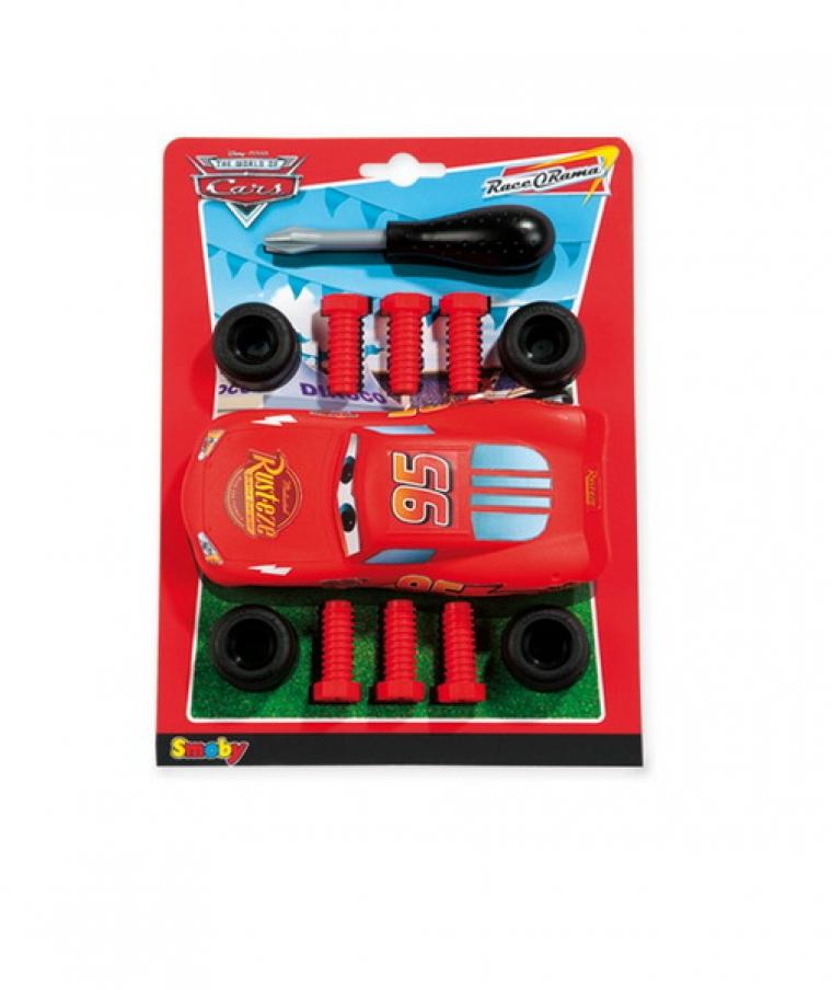 Конструктор – машинка Мак-Куин красный Smoby (Смоби)
