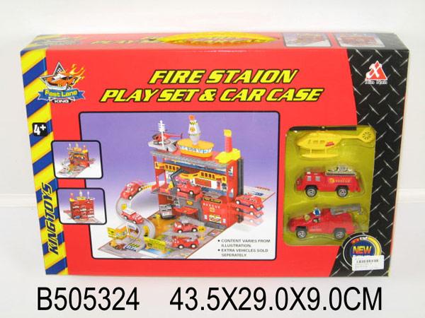 Игровой набор пожарная часть
