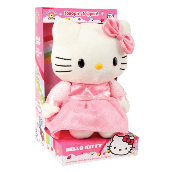 Мягкая игрушка – кошечка Hello Kitty Мульти-Пульти