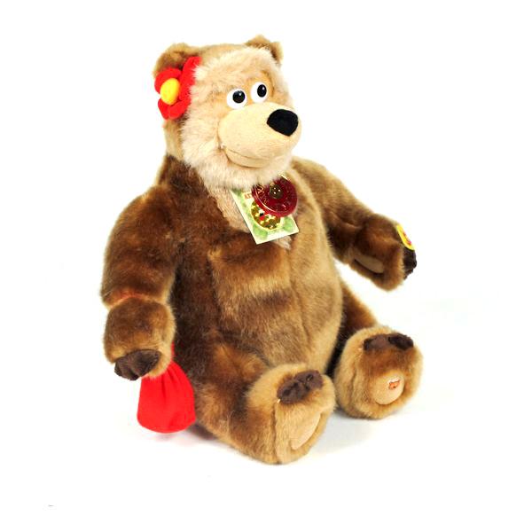 """Мягкая игрушка """"Мульти-Пульти"""" Медведица"""