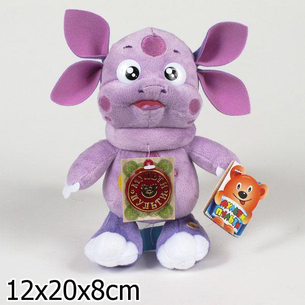 Мягкая игрушка Мульти-Пульти Лунтик, озвучена