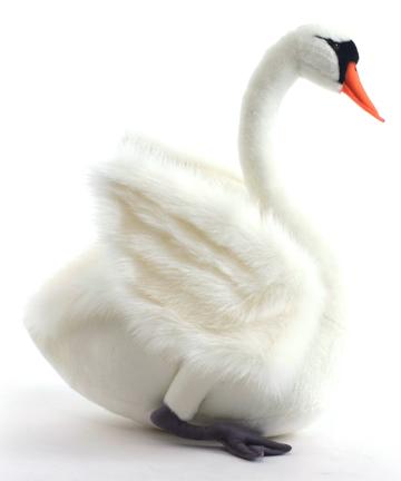 Игрушка от Hansa (Ханса) Лебедь белый