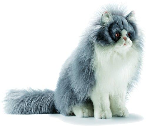Игрушка от Hansa (Ханса) Персидская кошка серо-белая, 38 см