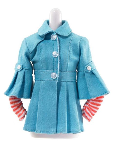 """Одежда и аксессуары для куклы LIV """"Осенняя коллекция"""": Голубая курточка"""